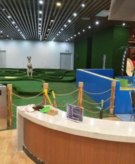 山东室内迷你高尔夫球场